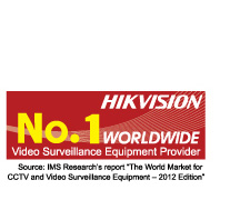 HIKVISION No.1 Worldwide Video Surveillance Equipment Provider
