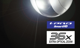 i-PRO SmartHD, 36x EXTRA OPTICAL ZOOM