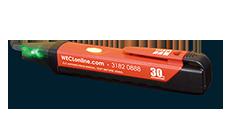 WECL WE-30 電壓感應筆 帶LED照明 AC90~1KV