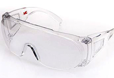 3M 1611 全透明防護眼鏡 (可連同眼鏡佩戴)